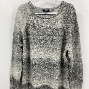 Chaps Gray Soft Pullover Sweater Size: XL NEW